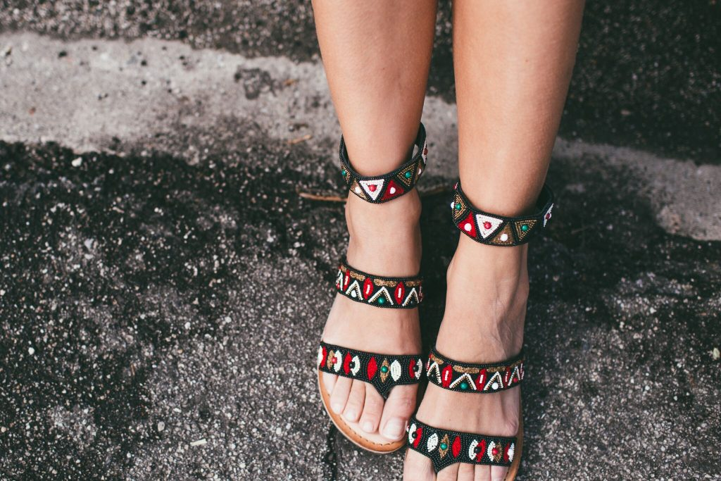 Chinese Laundry Beaded Sandals