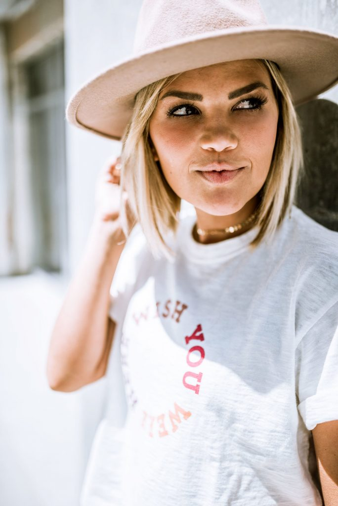 Madewell Wish You Were Here Tee