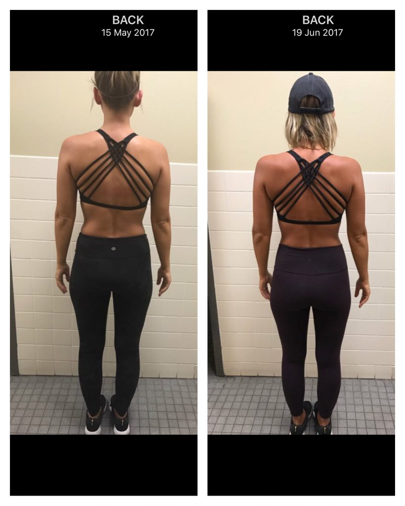 Trainer Kelli Fitness Progress Pictures