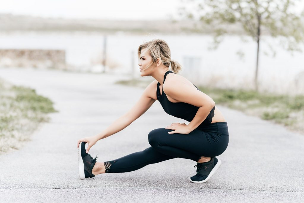 Titika Active Black Lace Workout Look