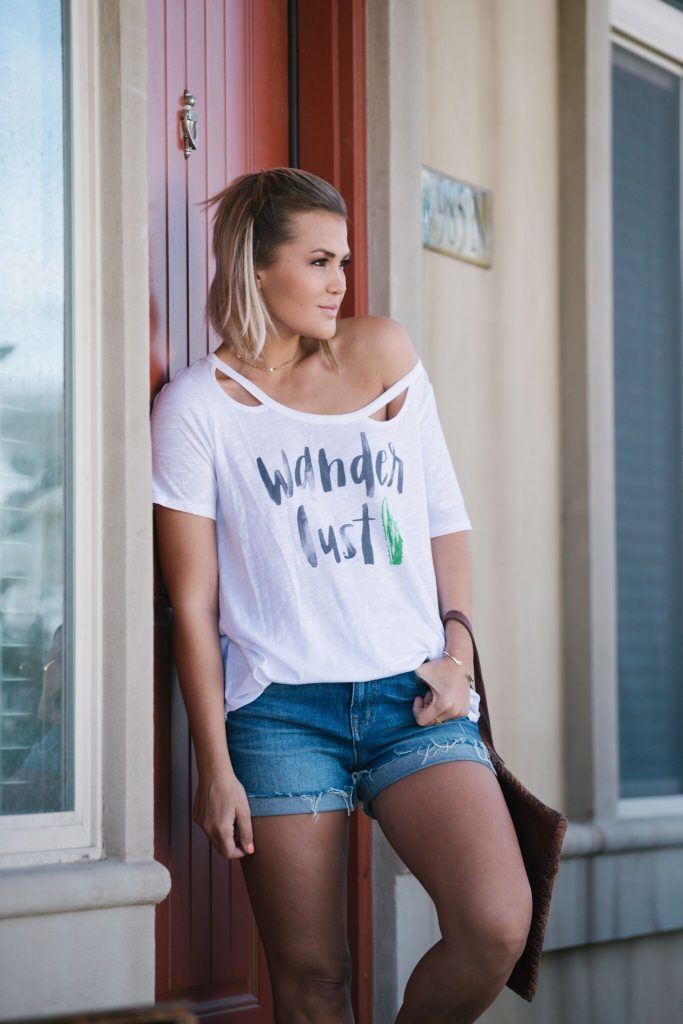 Ruby Claire Boutique Wanderlust Tee