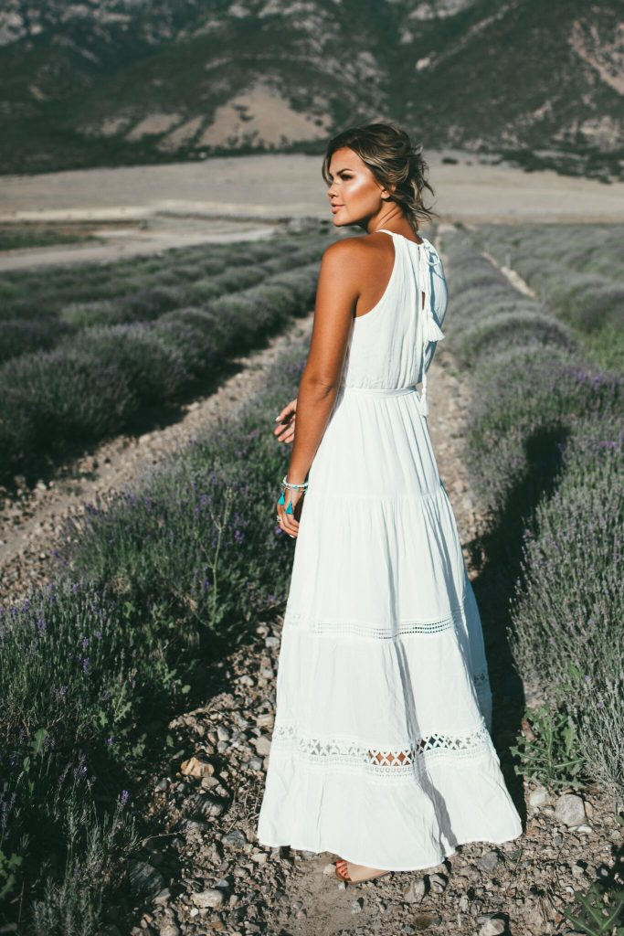 Lulu's Some Kind of Wonderful Maxi Dress