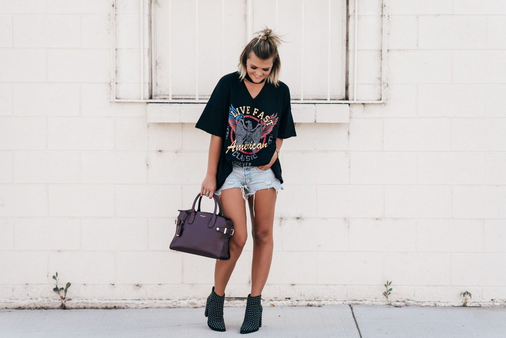 SheIn Oversized Band Tee