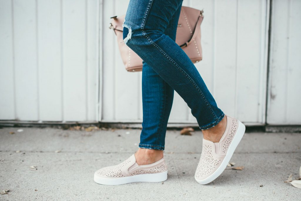 Henri Bendel, and Vionic sneakers