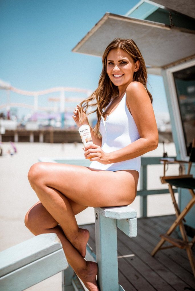 Aerie white one piece