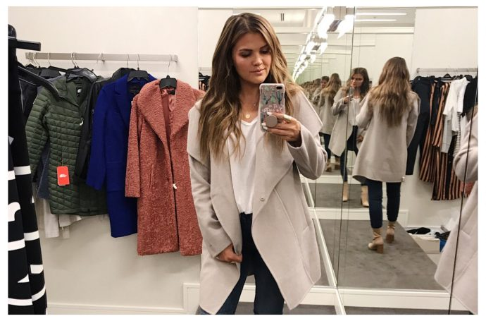 Nordstrom Anniversary Sale 2018 - Coat and Jacket Try-Ons