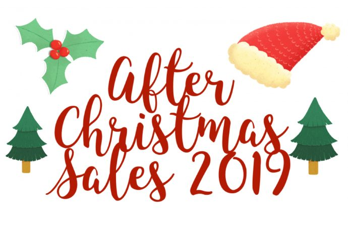sales; after christmas sales