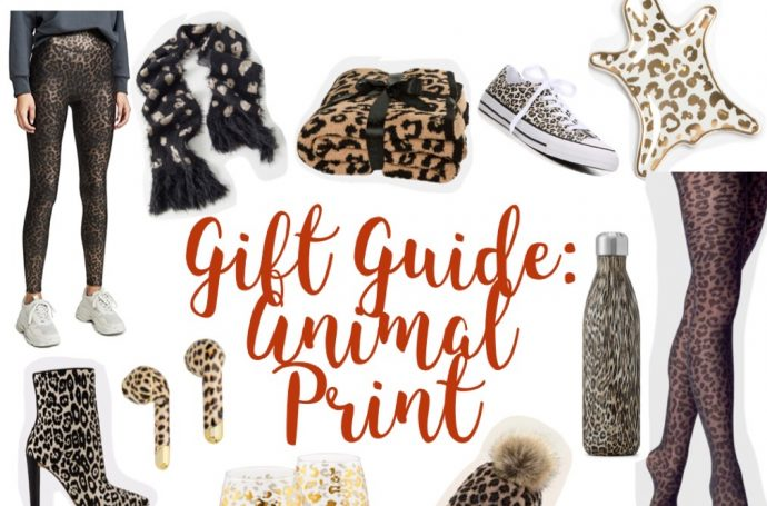 gifts; gift guide; animal print; leopard print